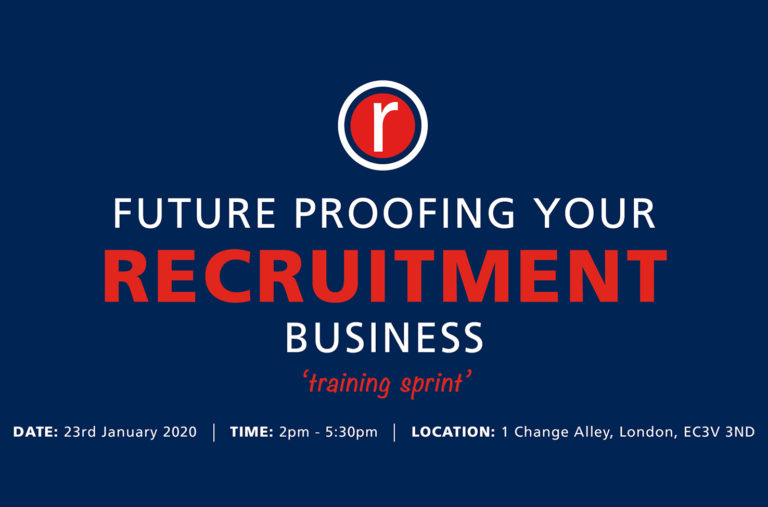 FUTURE PROOFING YOUR RECRUITMENT BUSINESS